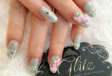Wedding Nail Design by Brows To Toes