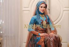 new collection : kebaya biru by Natural Moslem