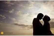 prewedding sunset by mahatmaphotography