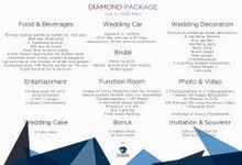 Wedding Package by Unity Ballroom