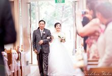Angelina & Joseph Ng Wedding Day by Dandelion Studio