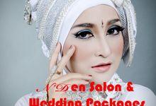 Akad Nikah dengan Putih Silver by N'Den Salon & Wedding Organizer
