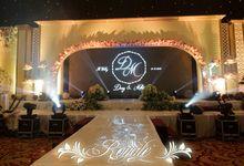 THE WEDDING OF DENOS & METHA by Eden Design
