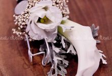 Groom's Boutonniere by BLUBELLS Flower