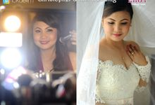 Chris and Kim Wedding 2-6-2016 by Make Up by Lhot Delim