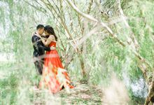 A Red & Vintage Pre Wedding of Jamie & Jelo by Peach Frost Studio