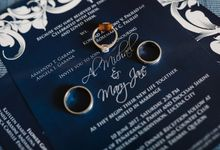 Blue Black Wedding Theme - AL & MJ by Mot Rasay Photography