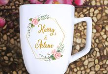 FLASH SALE MUG SQUARE WEDDING SOUVENIR by Mug-App Wedding Souvenir