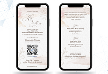 The Wedding of Anna & Nago by ERUGO Digital Guest Book