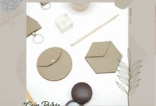 Hexa and Round Coin Purse by McBlush Merchandise Service by Mcblush Merchandising Service
