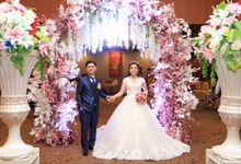 Wedding Party of Ardian and Moniah at Angke Restaurant by Angke Restaurant & Ballroom Jakarta