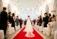 The CHIJMES - Dennis Fink and Melissa Lee Wedding by Ring of Blessings