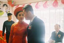 Wedding Ceremony  by Tim Tran Photography