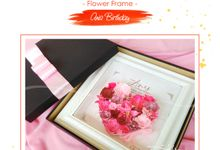 FLOWER FRAME - ANIS BIRTHDAY by Garden Scrapframe