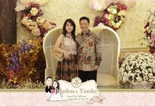 Markus & Yunike Wedding by UniquePhotoCard | Photo Booth / Photo Corner Surabaya