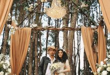 Wild Wild West Wedding Style in a Mystical Forest by Sylvia Fully by ELLA & GLO Atelier
