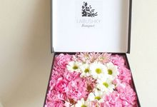 Flower Box by LABUSHKY Bouquet