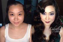 Before - After Makeup by Lidya Lee Makeup