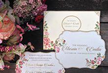 Flower Garden Marvin & Emilia by Inkvitation Gallery
