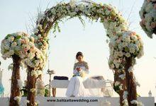 Sweet Rustic Casual Wedding Decoration in Bali by Bali Izatta Wedding Planner & Wedding Florist Decorator