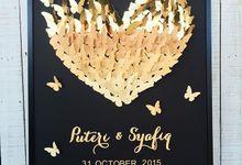 3D Butterflies Guestbook - Alternative Guestbooks by Akudankraf