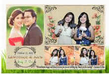Lawrence and Aira by TCP Photobooth by The Cut and Paste Events