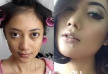 BEFORE AND AFTER by Dendy Oktariady Make Up Artist