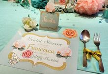 Sweetness tiffany bridal shower by Mint Party Planner & Decoration