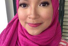 Prewedding makeup by MandaMarika Makeup