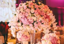 Wedding reception of Valerie &Aris by Spring Cottage