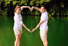 Lovers in the Lake by Bride Idea