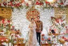 Sangjit Day Mr. Vincentius and Ms. Jeanette by The Batik Atelier