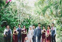 Jenifer Patricia wedding by Lademoiselle Bridesmaids