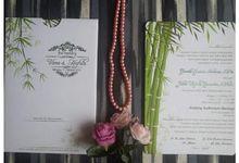 hafidz & viera by Achy Invitations