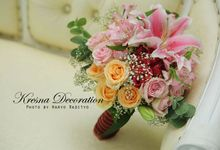 Hand bouquets  by Kresna Decoration