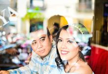 Catur & Desi Prewedding Photosession by leonamakeuparts