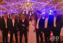 happy wedding dinda & guffii by Deo Entertainment