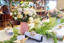 Shabby Chic Bridal and Baby Shower by The Bloomingbuds