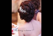 ALLY CHOONG BRIDAL MAKE UP & HAIR STYLING by Ally Choong . Make Over