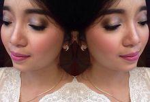 Makeup for engagement by MandaMarika Makeup
