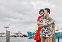 Adrian N Vonny Prewedding by Cheese N Click Photography