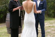 Wedding at Yarra Valley Estate by Ann Flockhart Authorised Marriage Celebrant