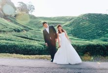 C & MG pre-wedding photoshoot gown rental by That White Dress