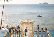 Luxury wedding of Vicky & Song at Conrad Koh Samui by BLISS Events & Weddings Thailand