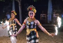 FIRE DANCE by Bali Wedding Entertainment