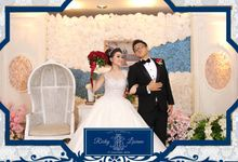 Photobooth wedding by SmiteBooth