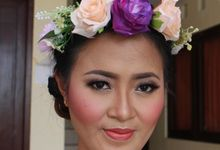 Prewedding makeup for Novia by Makeup by Heny