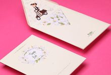 Tanya & Leo Wedding Invitation by Hiraloka