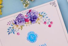 Tari & Rama Wedding Invitation by Hiraloka