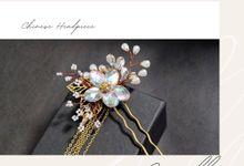 TINGJING & SANGJIT ACCESSORIES by Lyse Headpiece